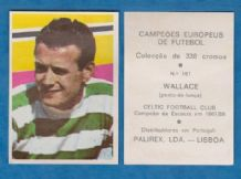 Glasgow Celtic Willie Wallace Scotland